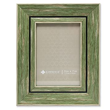 Amazoncom Lawrence Frames Weathered Decorative Picture Frame 5