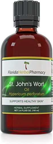 Florida Herbal Pharmacy, St. John s Wort Oil 3.4 oz.
