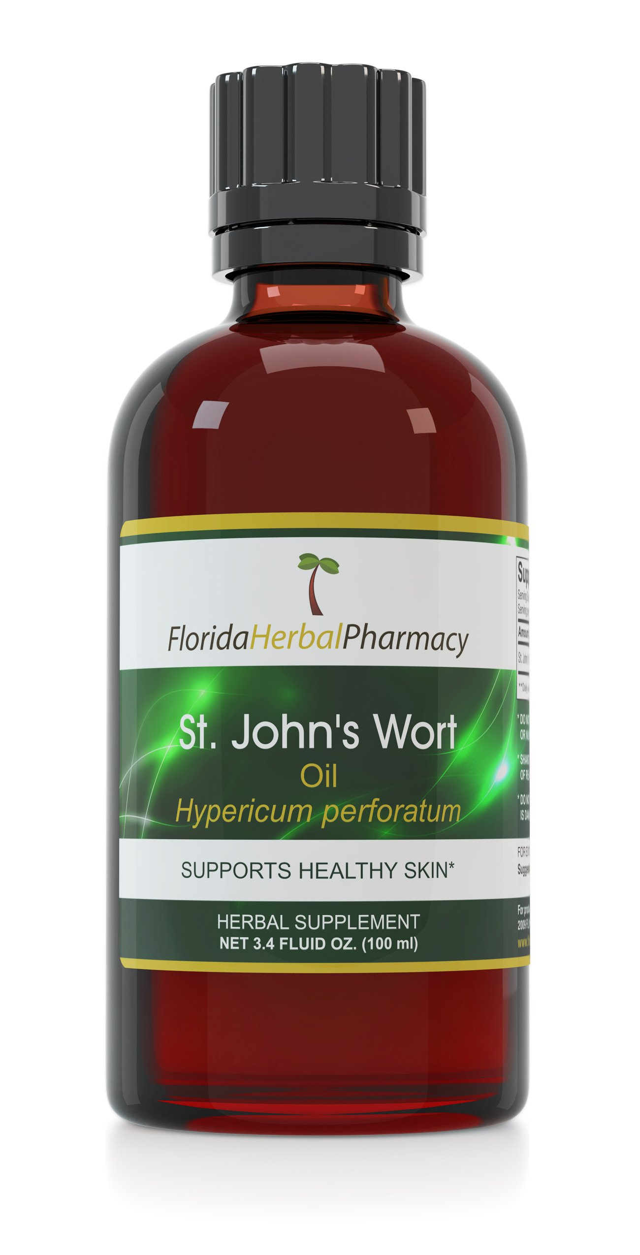 Florida Herbal Pharmacy, St. John's Wort Oil 3.4 oz.