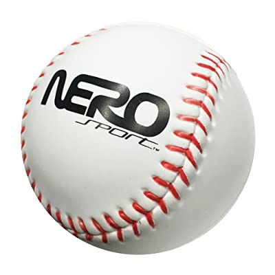 Nero NS200 High Bounce Rubber Toy Ball 3.5 inch Tennis Soccer and Basketball Great for The Streets Park Back Yard Agility Ball Bulk Price Birthdays (White) : Sports & Outdoors
