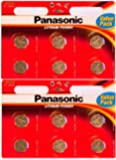 12 X Panasonic Cr2032 Lithium Cell 3v Battery Amazon Co