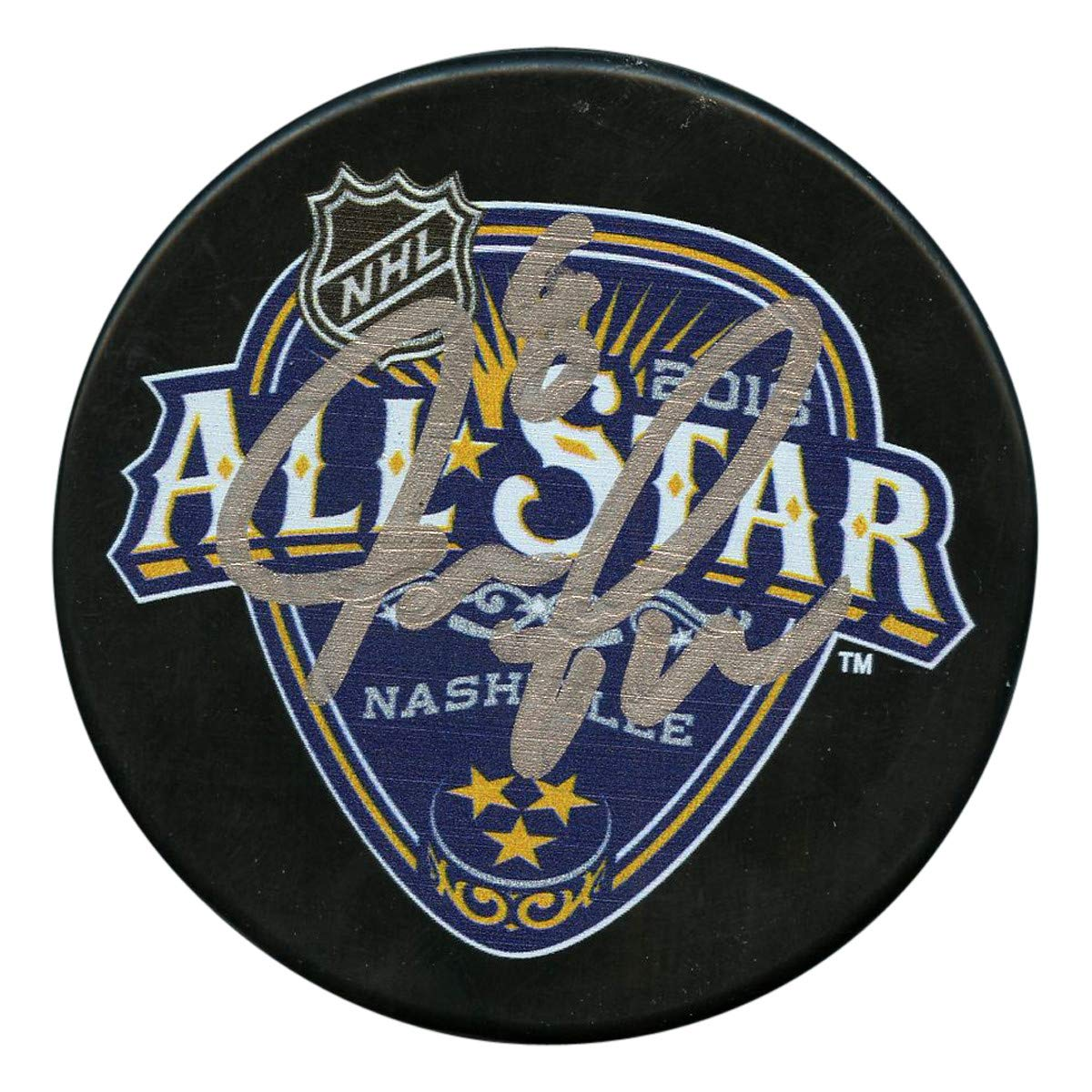 Joe Pavelski Autographed Signed San Jose Sharks 2016 NHL All Star Game Puck - Certified Authentic