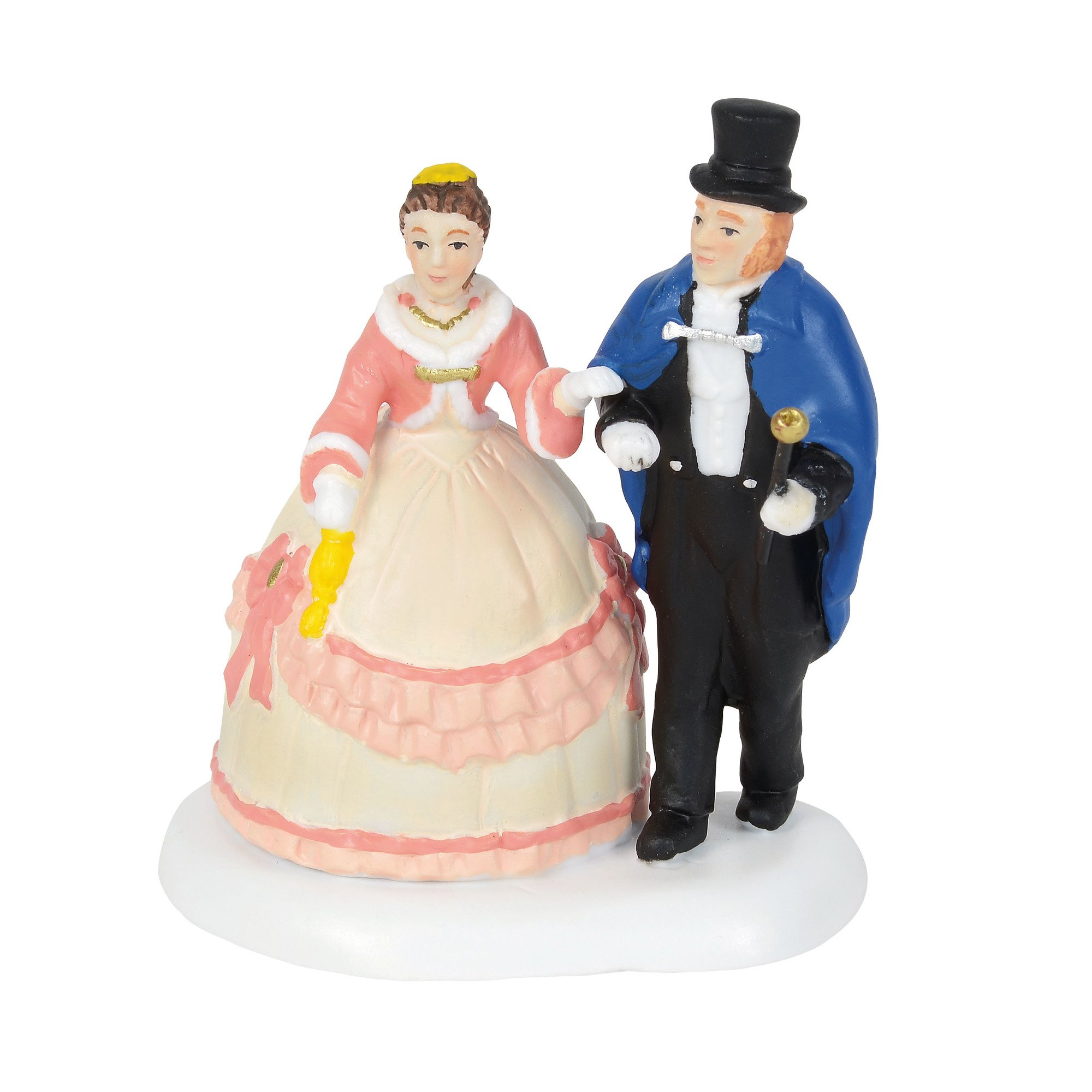 Department 56 Dickens Village Accessories an Elegant Evening Out Figurine, 2.75'', Multicolor