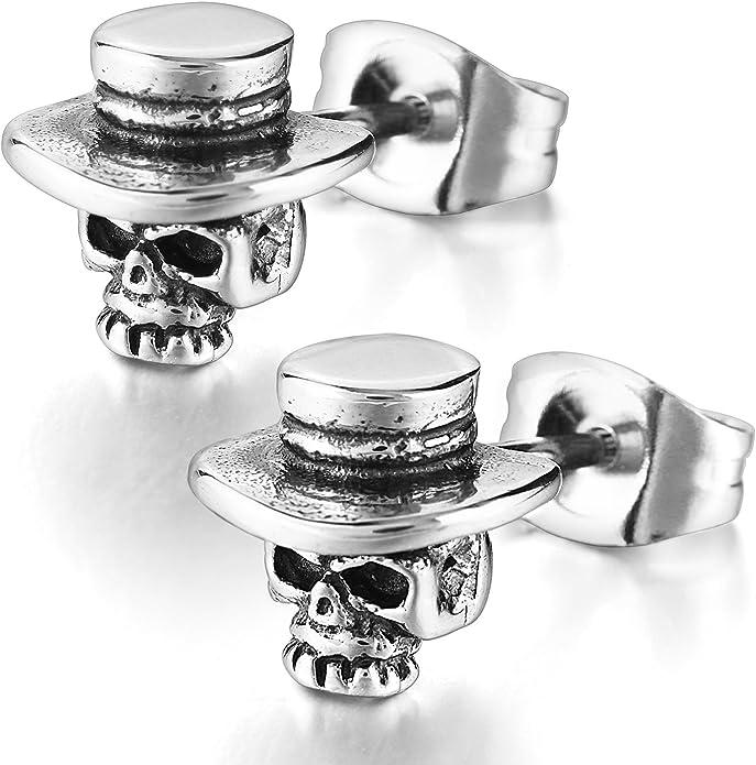 Acheter boucles d'oreille tete de mort online 2