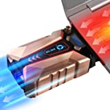 ⭐️KLIM™ Cool + Metal Laptop Cooler Fan - The Most Powerful Gaming External Air Vacuum - Computer USB for Immediate Cooling -
