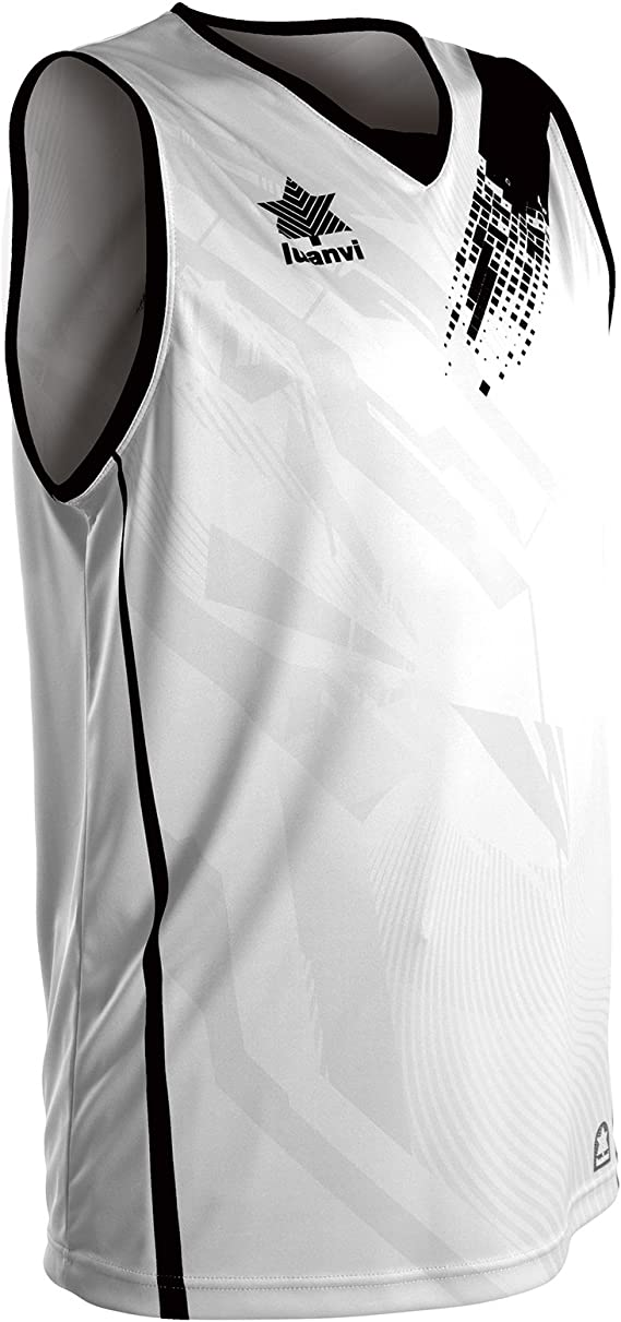 Luanvi Play Camiseta de Tirantes Deportiva de Baloncesto, Unisex ...