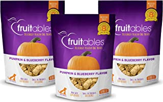 product image for Fruitables Baked Dog Treats Pumpkin & Blueberry Flavor (3 Pack) 7 oz Each