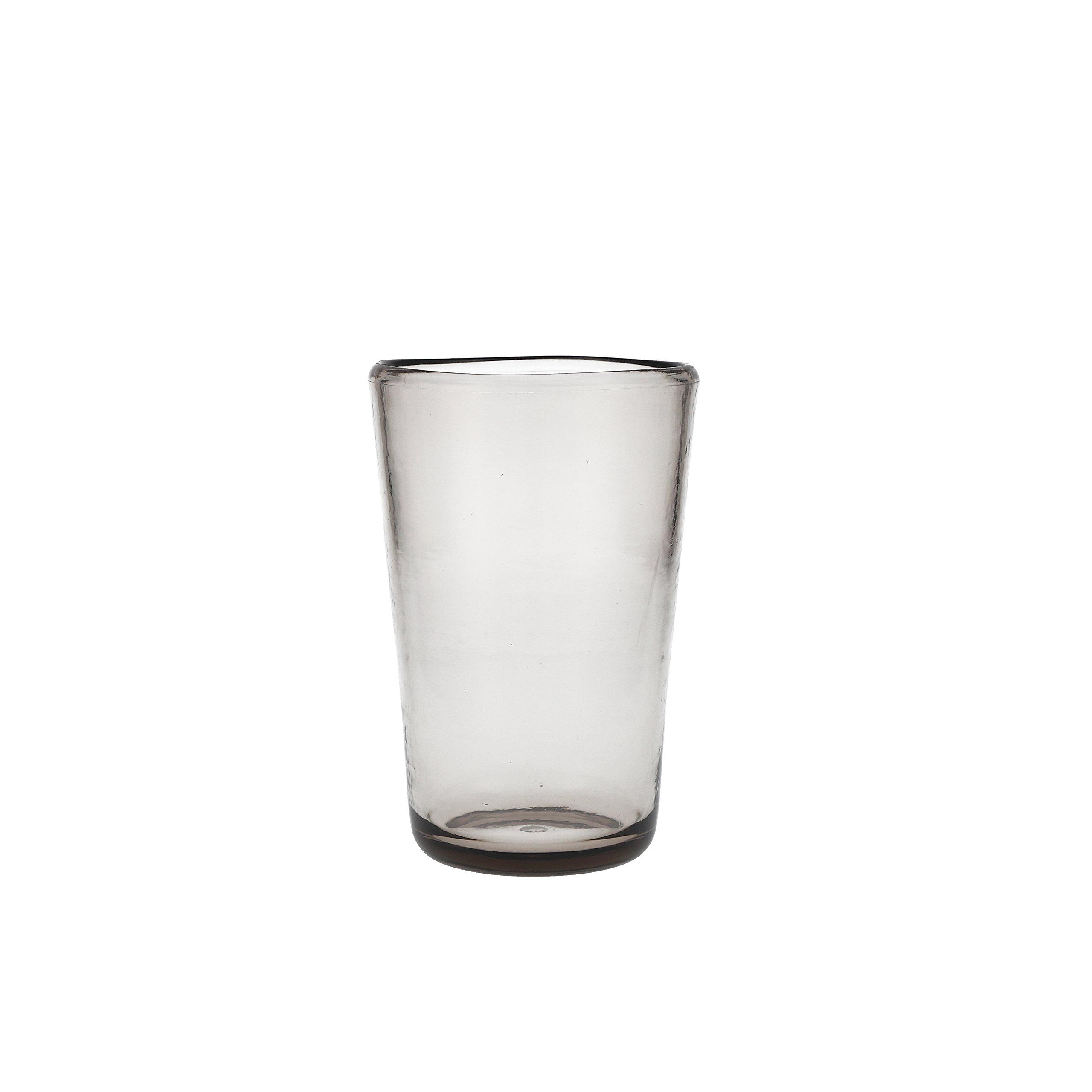 D&V Tritan Copolyester Veranda High Ball, 19 Ounce, Gray, Set of 12