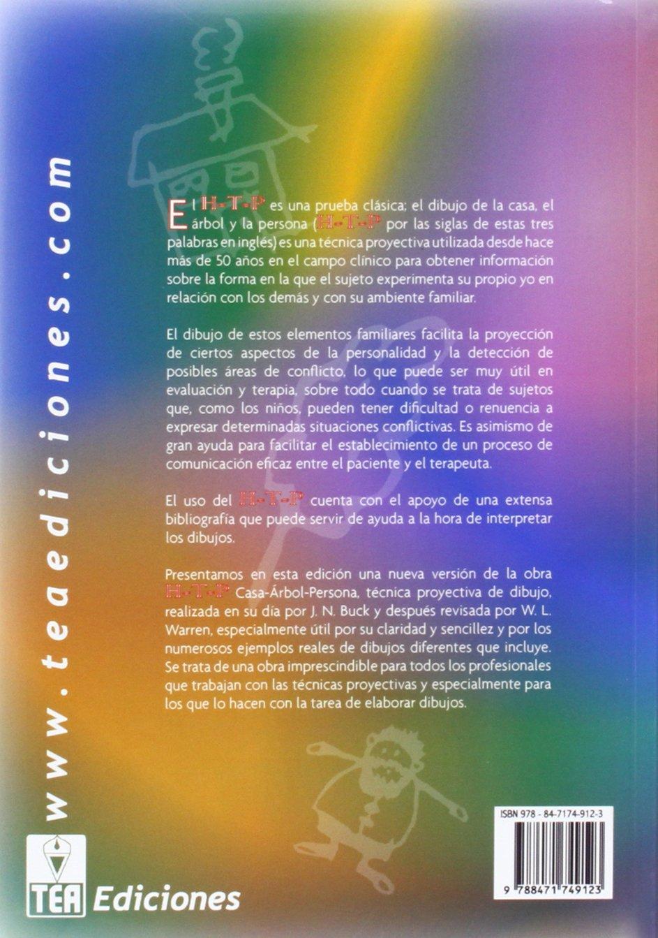 H-T-P (CASA-ARBOL-PERSONA). MANUAL Y GUIA DE INTERPRETACION: 9788471749123: Amazon.com: Books