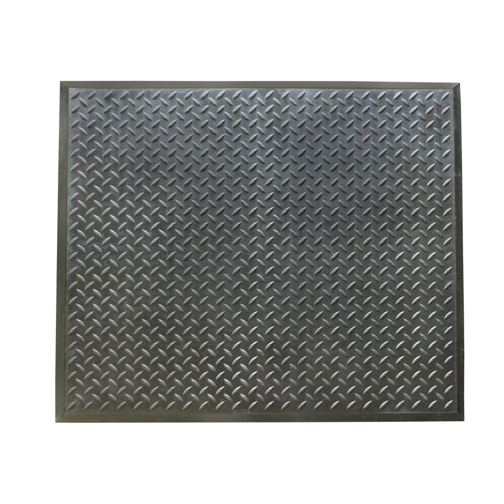 Rubber-Cal 03_146_WEB_FIFoot-Rest Anti-Fatigue-28 X 31-Comfort Mat-Finished Tile Black