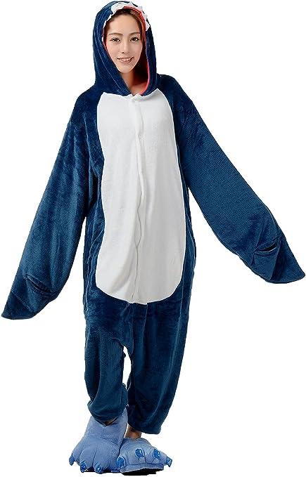 Shina Nueva Animal Unisex pijama Fancy disfraz tiburón azul ...