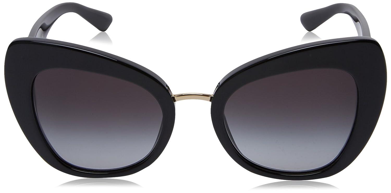 Sunglasses Dolce /& Gabbana DG 4319 501//8G BLACK