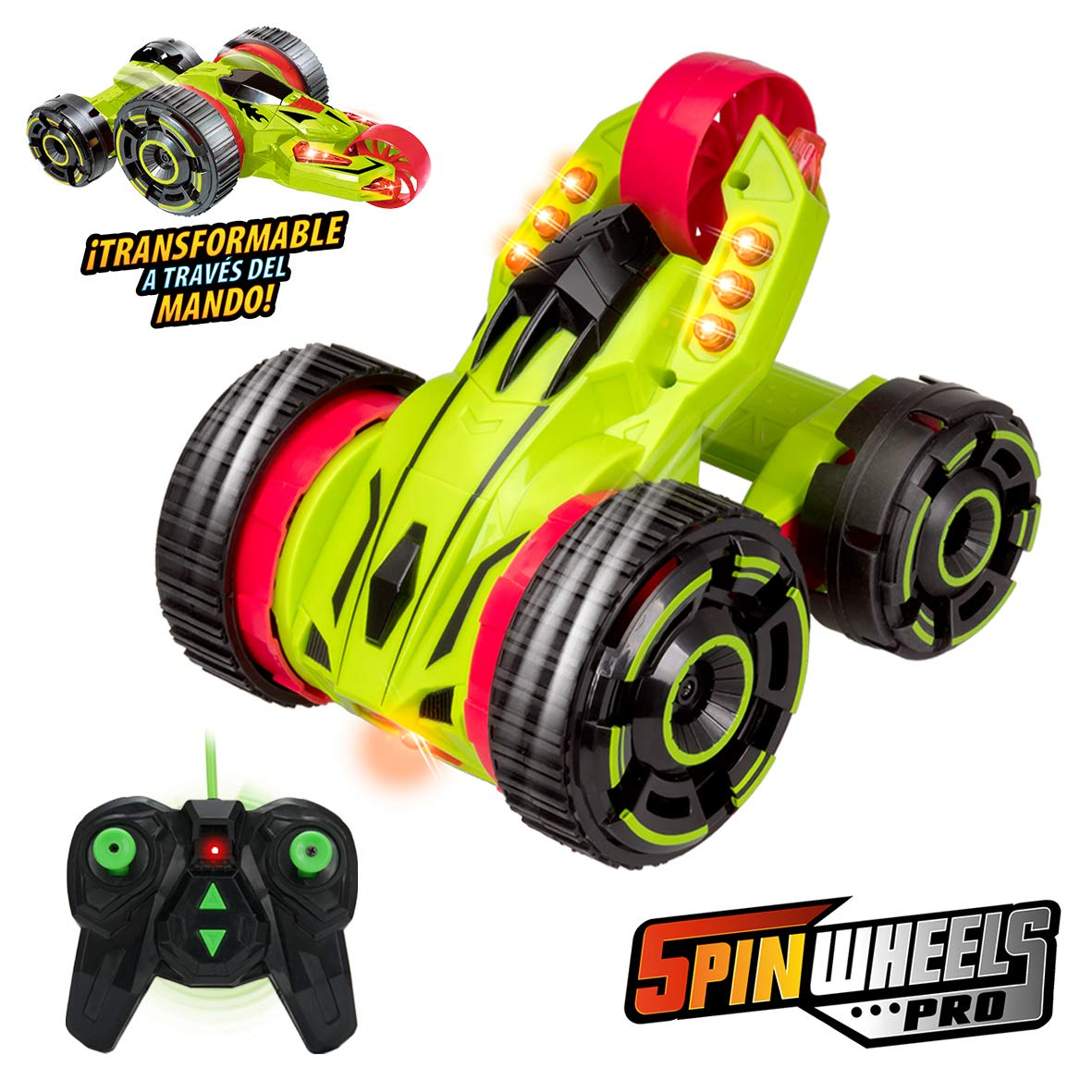 XTREM RAIDERS-COCHES Spin Wheels Pro (XT180812)