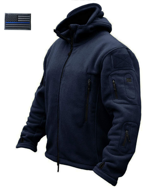 CRYSULLY Man Zipper Warm Coat Jacket Sportswear
