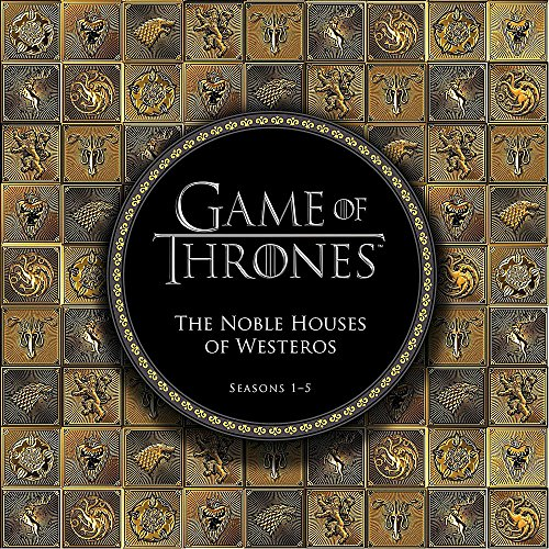 Game of Thrones: The Noble Houses of Westeros: Seasons 1-5 (Tapa Dura)