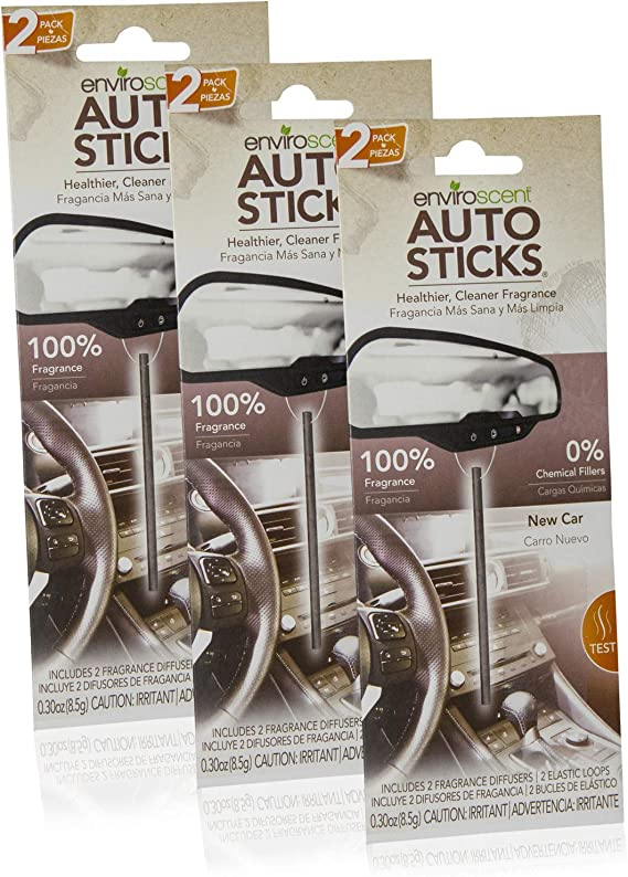 Enviroscents Auto Sticks Natural Car Air Fresheners