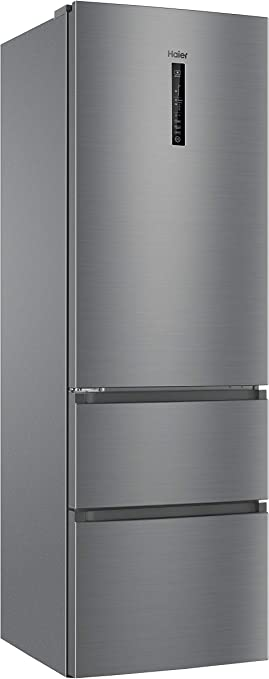 Haier AFE735CHJ - Frigorífico combi, 40dB, No Frost, 330L, Inverter, MyZone, SuperFreezing, LED, A++, Inox: Haier: Amazon.es: Grandes electrodomésticos