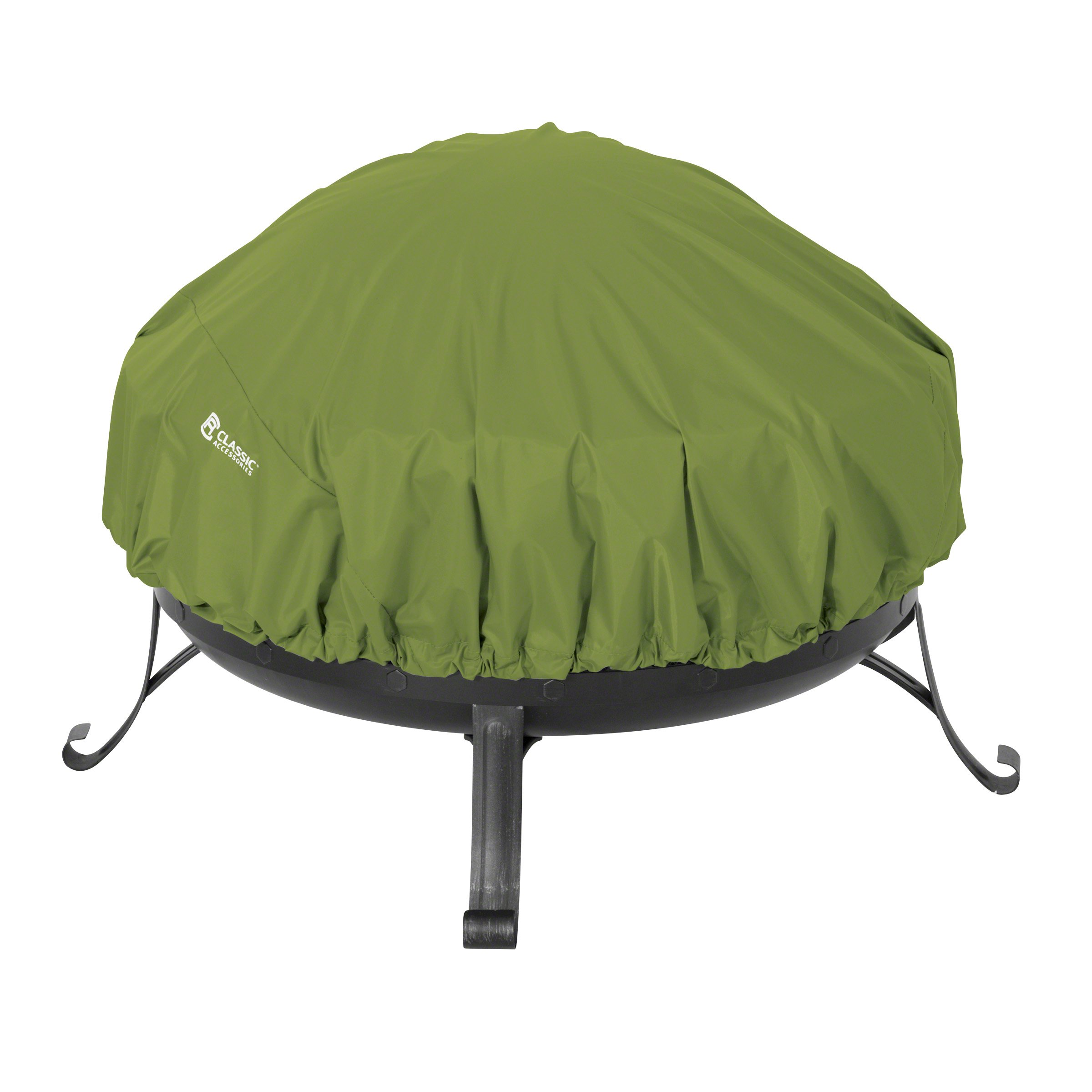 Classic Accessories 55-956-011901-EC Sodo Plus Fire Pit Cover, Green