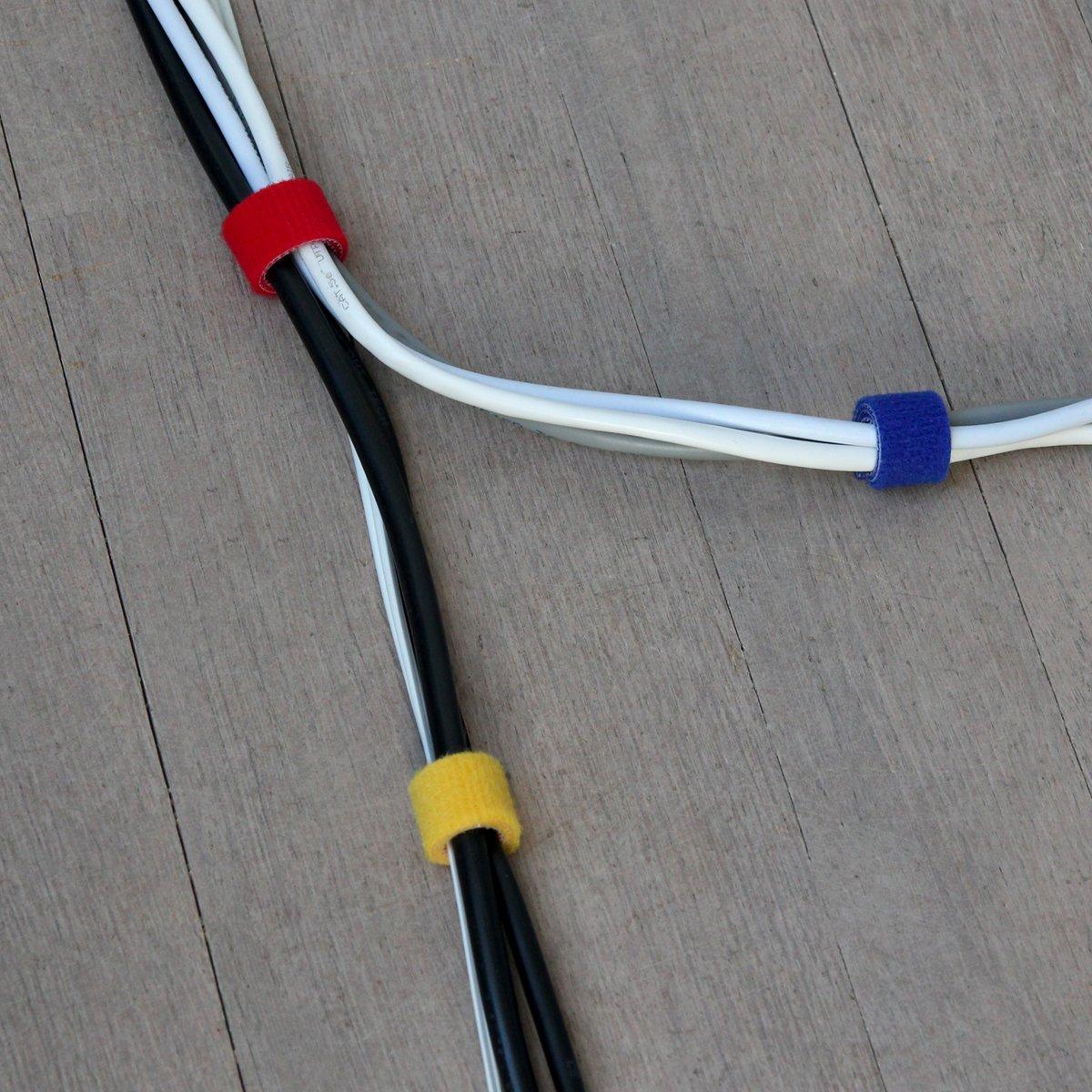 Label-the-cable Klettbandrollen doppelseitig (Haken & Flausch ...