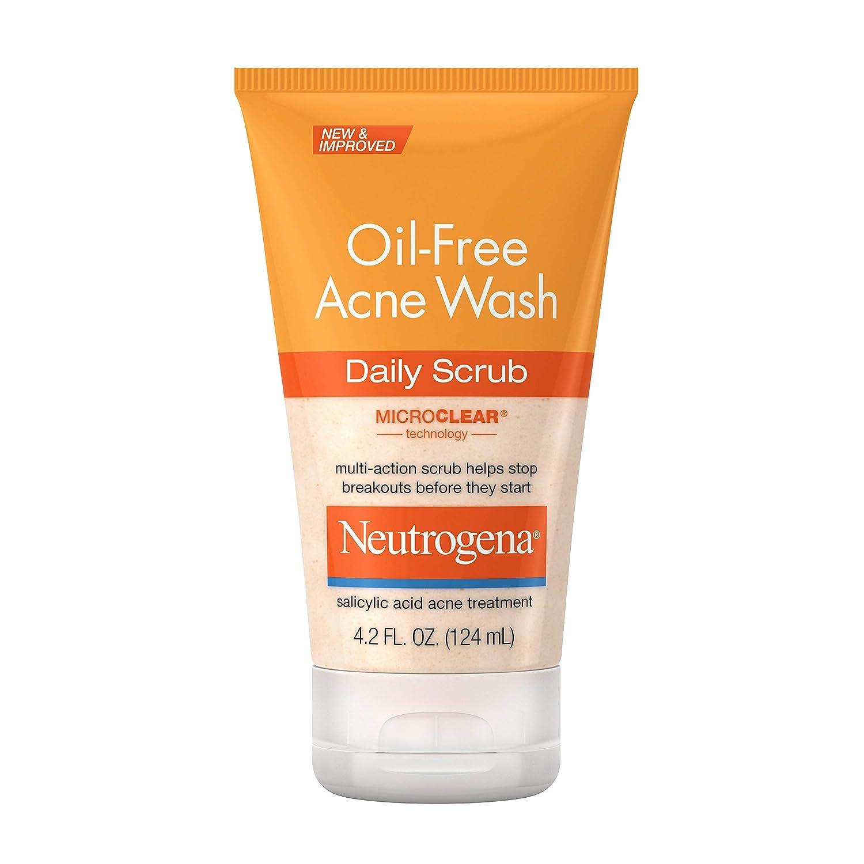 Amazon Com Neutrogena Oil Free Acne Face Scrub 2 Salicylic Acid