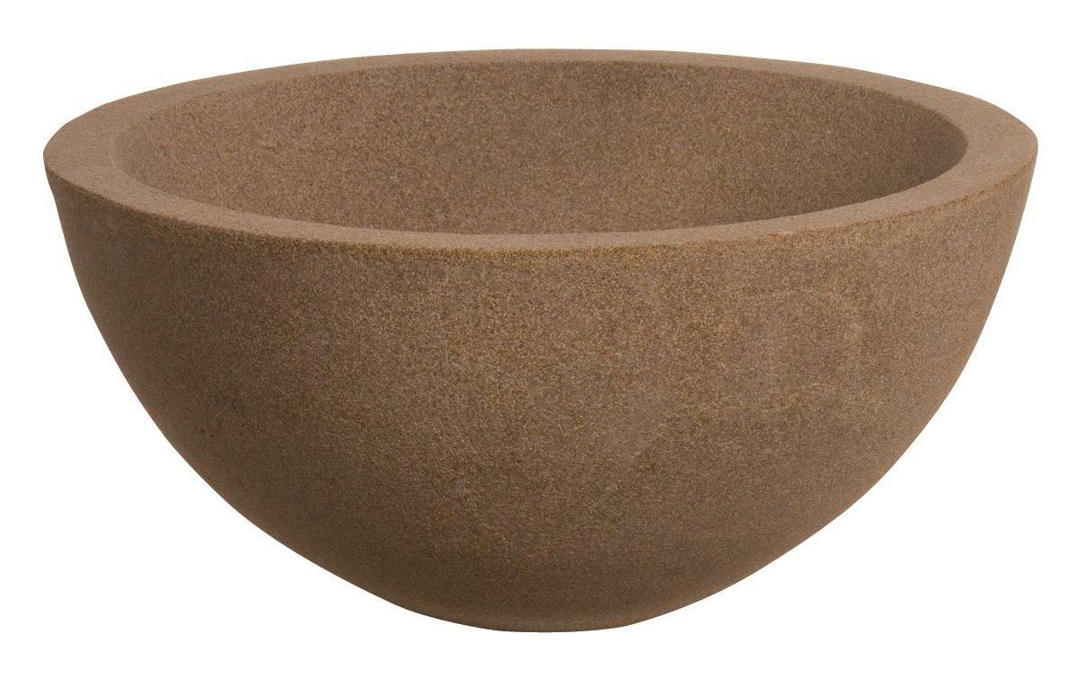 Laguna Urban Water Garden Bowl, Sand Stone