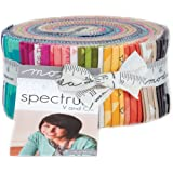 V and Co Spectrum Jelly Roll 40 2.5-inch Strips Moda Fabrics 10860JR