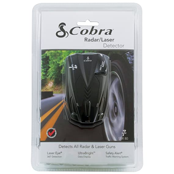 Cobra Electronics SSR 80 Performance Radar/Laser Detector
