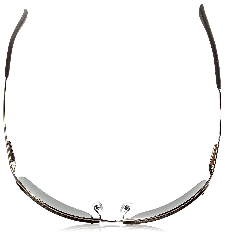 Rayban - Gafas de sol Rectangulares RB3183 Top Bar, Grey (004/71 Gunmetal): Amazon.es: Ropa y accesorios