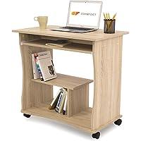 COMIFORT Schreibtisch, PC Tisch, 80x 50x 75cm