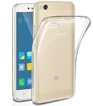 Funda Xiaomi Redmi 4X, Leathlux Carcasa Trasparente Silicona TPU Anti-Scratch Ultra Fina Case Carcasa para Xiaomi Redmi 4X 5.0 Pulgada