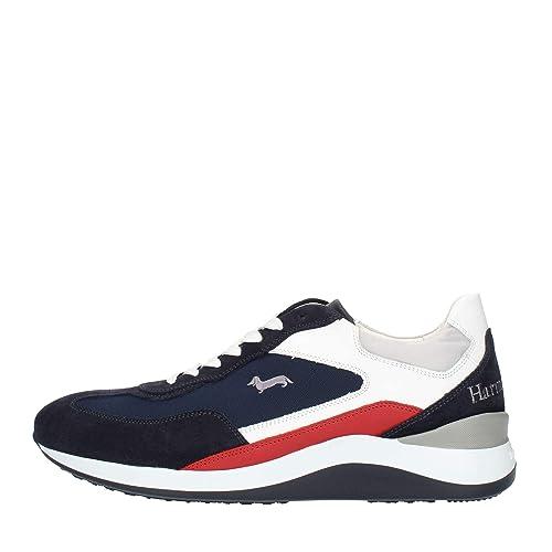 best website 7b0de 0932c Harmont & Blaine E3065 Sneakers Uomo Blu 43: Amazon.it ...
