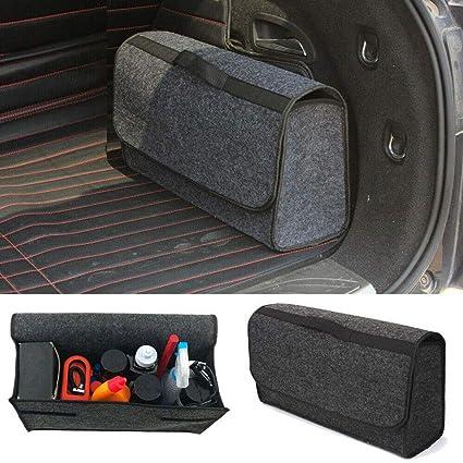 Suv Cargo Organizer >> Amazon Com Euone Housekeeping Trunk Cargo Organizer Foldable Caddy