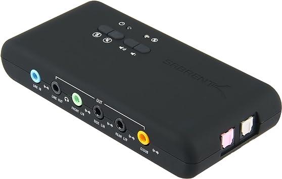 Amazon.com: Sabrent USB 2.0 tarjeta de sonido usb-snd8 ...