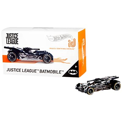 Hot Wheels id Justice League Batmobile {Batman}: Toys & Games