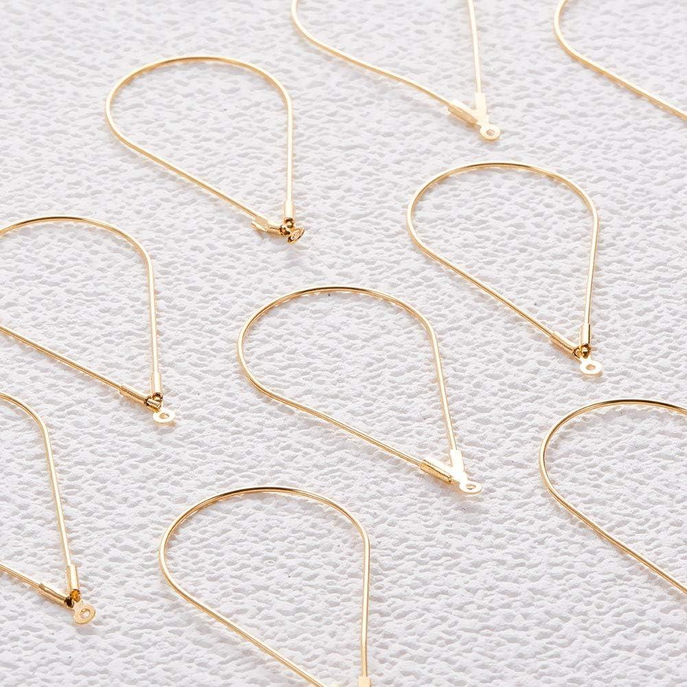 2-Inch 24-Gauge 22K Gold BeadaholiqueCA FHP-3013 20-Piece Ball Head Pins