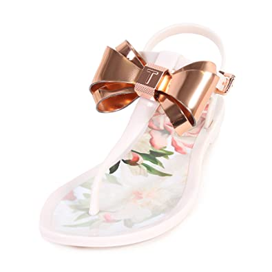 187299893837 Ted Baker Women s Effiey PVC Sandal Painted Posie Pink-Pink-6 ...