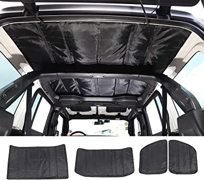 u-Box Jeep Wrangler TJ Headliner Hardtop Heat Insulation Kit Roof Insulation Cotton Kit Car Styling Accessories for 1997-2006 Jeep Wrangler TJ /& 2004-2006 Wrangler LJ Models