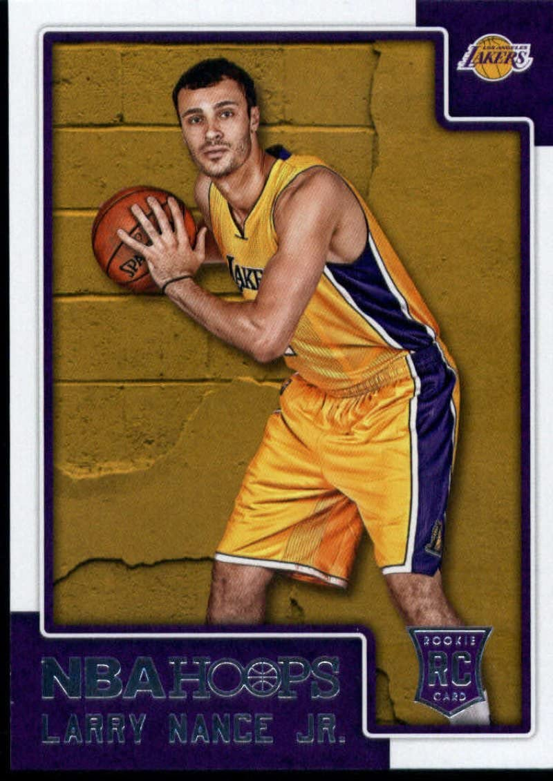 2015-16 Contenders Draft Picks School Colors Basketball #49 Larry Nance Jr Wyoming Cowboys Official NCAA Trading Card made by Panini