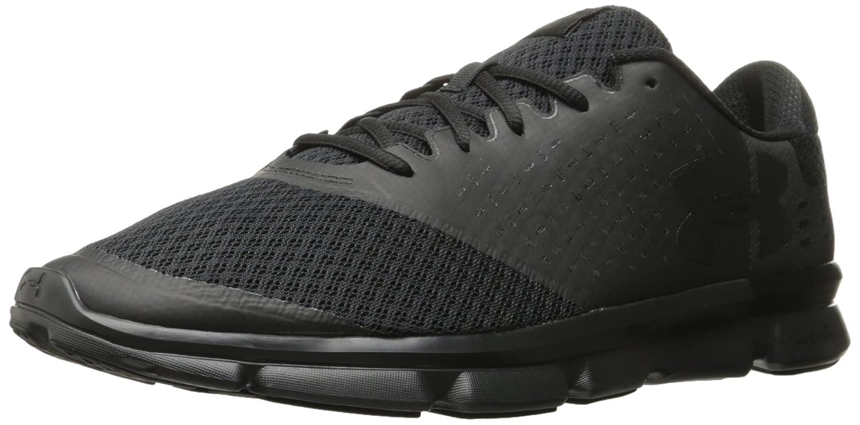 Under Armour Men's Speed Swift 2-2E Running Shoe B01MSU2IAL 10 M US|Black (005)/Black