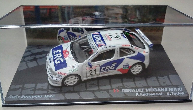 Rally Sanremo 1997 ANDREUCCI G/én/érique Renault Megane Maxi IXO 1//43