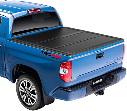 Amazon Com Gator Efx Hard Tri Fold Truck Bed Tonneau Cover Gc44008 Fits 2007 2020 Toyota Tundra W Cargo Management System 5 5 Bed Made In The Usa Automotive