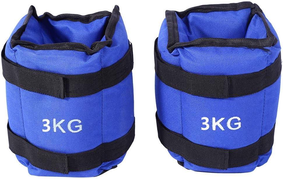 Poids dEntra/înement Musculation Equipement de Fitness GOTOTOP 1 Paire Lestes Chevilles//Poignets Ajustables