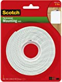 Scotch Permanent Mounting Tape, 1 Inch x 125 Inches Pack of 2