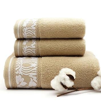 Toallas de baño Toallas de baño gruesas y toallas tres juegos de toallas de regalo de ...