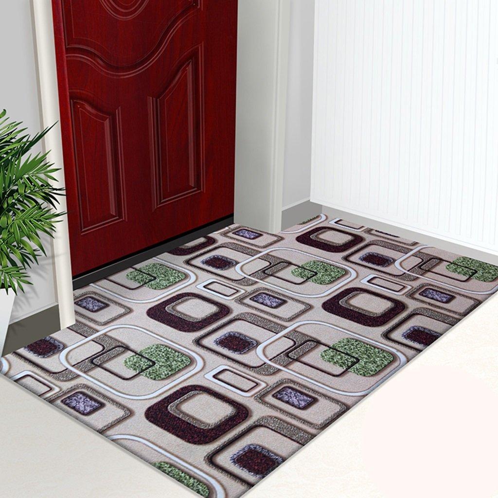 3Dカラー印刷カーペットカーペットの家は非常に薄いドアカーペットノンスリップドアマットホールフットパッドホームリビングルームのベッドルームキッチンをカットすることができます ( 色 : #7 , サイズ さいず : 120*180CM )   B06XZCCKMJ