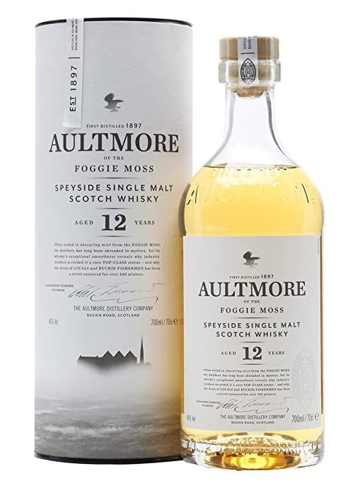 5 opinioni per Aultmore Scotch Whisky 12 Anni Single Malt- 70 cl