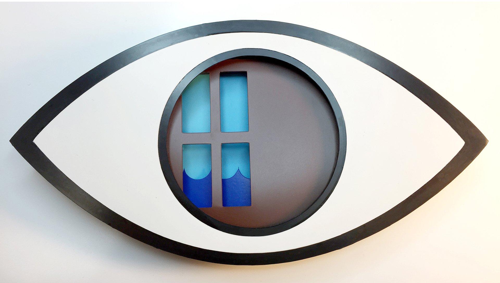 eyeScene #3 - Mini Personality Test - Water in the Window