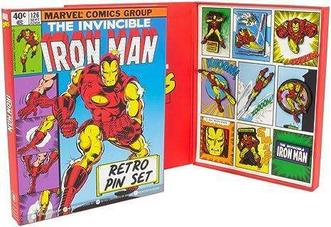 Rubber Road - Set De Pines Retro Iron Man: Amazon.es: Videojuegos