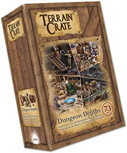 Mantic Games MGTC104 TerrainCrate: Dungeon Depths, Multi