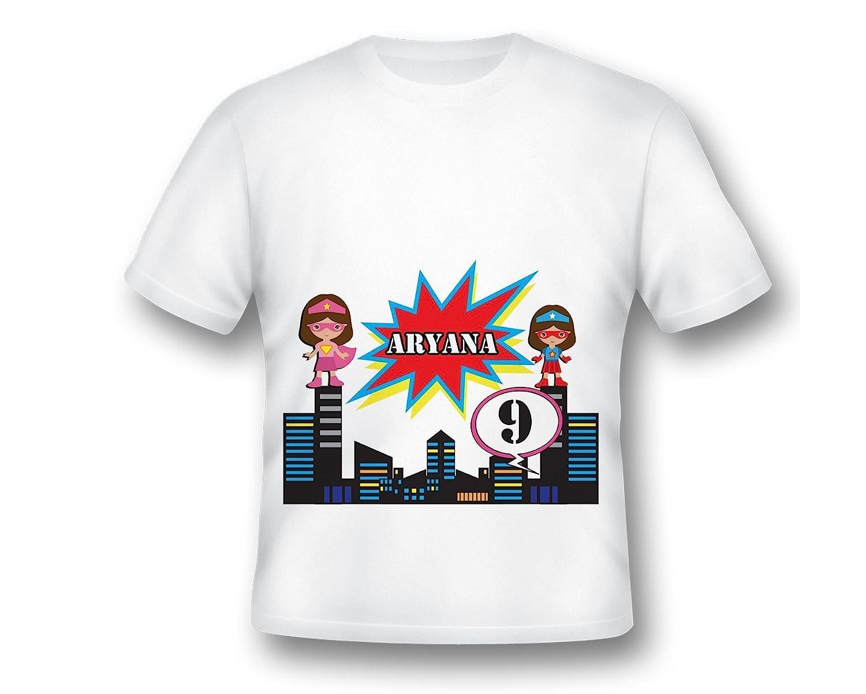 Amazon Tee Shirt Custom Super Girl Fun Shirt Customize Shirt
